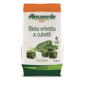 "Bieta erbetta cubetti Bio ""Almaverde Bio"" Kg.2"