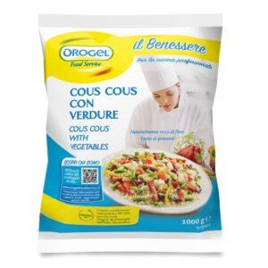 Cous Cous con verdure Orogel Kg.1