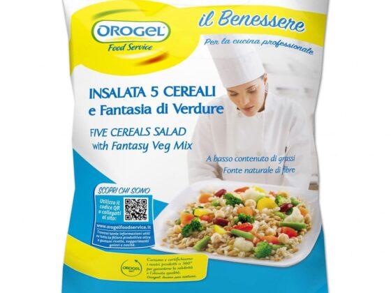 Insalata 5 Cereali e fantasia di verdure Orogel Kg.1