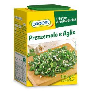 """Misto prezzemolo e aglio """"Aromi dosa facile"""" Orogel gr.100"""