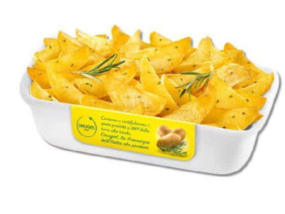 Patate spicchi grigliate Orogel Kg.1