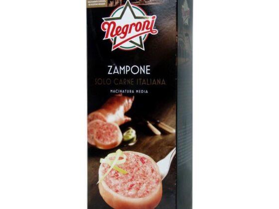 Zampone Negroni in astuccio